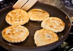 Had these at Sherpa Kitchen last night,.....beyond amazing. Good enough I want to try them at home! Shapale — Tibetan fried meat pies. Photo © YoWangdu