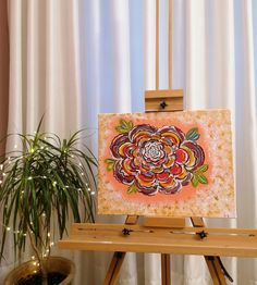 Gouache, Beautiful Flowers, Canvas Art, Tapestry, Artist, Home Decor, Hanging Tapestry, Tapestries, Decoration Home