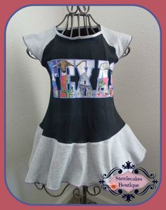 TEXAS Tee Dress  Size 5/6/7 by stewiecakes on Etsy, $25.00