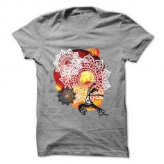 Ethnic watercolor with yoga background T-Shirts, Hoodies (19$ ==► Shopping Now!)
