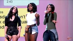 Fifth Harmony Sing a Group Text on Jimmy Kimmel Live (legendado PT-BR) Fifth Harmony, Group Text, Jimmy Kimmel Live, Singing, Youtube, Wonder Woman, Superhero, Women, Facebook
