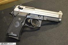 ARMSLIST - For Sale: Beretta M9A1 9mm Pistol - Two Tone Stainless  LIKE US ON FACEBOOK: https://www.facebook.com/guncommanders
