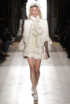 Look 46 at Vivienne Westwood #SS15 Gold Label