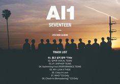 Seventeen Reveals Track List for 'Al1' + Ver. 3 Group Teaser | Koogle TV