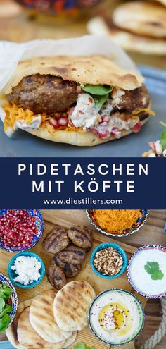 Pidetaschen mit Köfte - New Ideas Waffle Recipes, Snack Recipes, Cooking Recipes, Healthy Recipes, Food N, Good Food, Food And Drink, Turkish Recipes, Ethnic Recipes