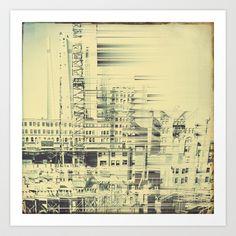 City Art Print by Jean-François Dupuis - $19.76
