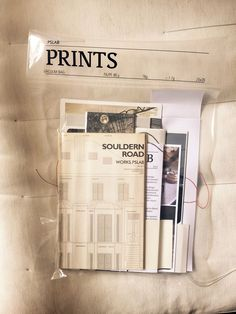 Vacuum bag packaging to mail publications by PSLab.
