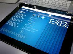NCC — testing web page on iPad by Ilya Aleksandrov