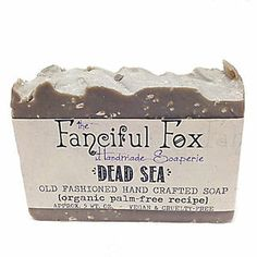 Wishing you were at the #beach? We'll bring the Dead Sea to you with this #soap! Dead Sea mud and brine will #detoxify your #skin in ways you never knew!