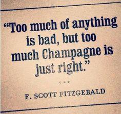 F. Scott Fitzgerald. @Lindsay Dillon Dillon Dillon Cotgreave @kristinbetschart :)