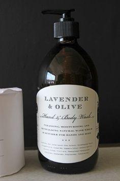 Plum  Ashby Lavender  Olive Hand  Body Wash