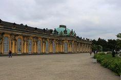 Sanssouci Palace in Park Sanssouci, #Germany #park #beautifulplaces