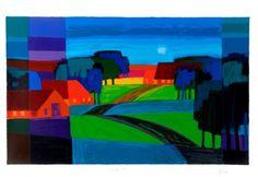 Ton Schulten - Dutch painter of Consensusism |