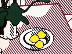 Roy Lichtenstein // Nourritures virtuelles #art #lichtenstein #pompidou