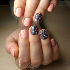 "The delicate nails look wonderful in your any ""look"". They add your hands some delicacy. Pale pink gel nail polish ..."