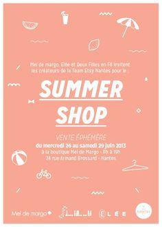Team Etsy Nantes: SUMMER SHOP : vente éphémère à Nantes !