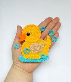 dtr in crochet / dtr crochet . how to dtr crochet . how to do a dtr in crochet . dtr in crochet . what is dtr in crochet . how to crochet a dtr Crochet Gifts, Cute Crochet, Easy Crochet, Crochet Hooks, Motifs D'appliques, Crochet Motifs, Crochet Stitches, Crochet Appliques