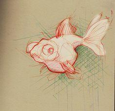 Gold Fish by Adara Sanchez Anguiano