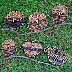 Handmade Traditional osier rotin vélo panier avec sangles en cuir lacak