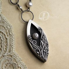 Hidden pearl TUTORIAL metal clay by drakonaria on Etsy, $14.00 What a Beauty!!