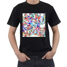 Soul Colour Light Men s T-Shirt (Black) by InsanityExpressed