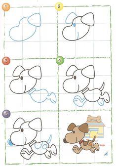 drawing animals zoo easy drawings draw demand learn animal hund basic scribd lcdl