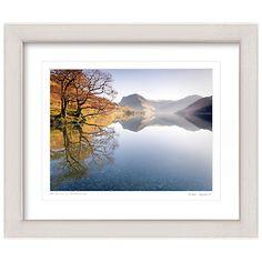Buy Mike Shepherd - Autumn on Buttermere Framed Print, 57 x 67cm Online at johnlewis.com