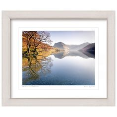 Buy Mike Shepherd - Autumn on Buttermere Framed Print, 57 x 67cm Online at johnlewis.com