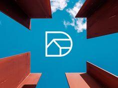 Logo for Real Estate agency by Kanades Real Estate Logo Design, Real Estate Branding, Real Estate Agency, Logo Design Services, Design Agency, Branding Design, Property Logo, Property Design, Construction Logo Design