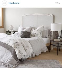 Zara home bedroom bed linens trendy ideas Zara Home Bedroom, Zara Home España, Linen Bedroom, Bedroom Bed, Linen Bedding, Bed Linens, Bed Room, Bedding Shop, Guest Bedroom Decor