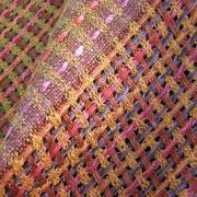 Silk Weaving by Diana Sanderson