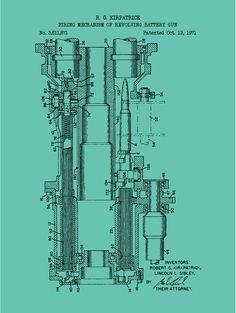 Firing Mechanism of Revolving Battery Gun