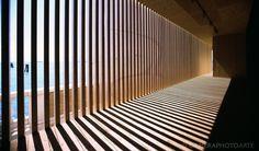 "Venice Biennale 2005, Olafur Eliasson Pavilion ""Your Black Horizon"""