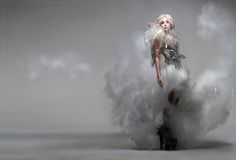 Nick Knight's editorial images of Lady Gaga, featured in Vanity Fair September alongside previously unpublished stills Nick Knight Photography, Smoke Photography, Portrait Photography, Stella Lucia, Lady Gaga News, Alexander Mcqueen, Best Fashion Photographers, Surrealist Photographers, Lady Gaga Photos