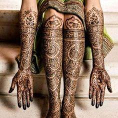 henna dulhan design #shaadibazaar #henna