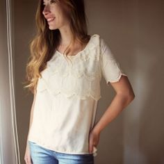 Step by step instructions to turn 2 nasty old shirts into a refashion beauty!
