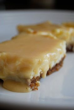 Lovin' From The Oven:Dulce de Leche Cheesecake Bars - Lovin' From The Oven