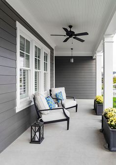 Add Character to Your Home with James Hardie Siding - 730 Sage Street Exterior Paint Colors For House, Paint Colors For Home, Exterior Colors, Exterior Siding, Hardie Board Siding, Exterior Design Of House, Weatherboard Exterior, Siding Colors For Houses, House With Porch