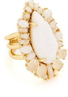 Kate Spade New York Seastone Sparkle Cocktail Ring - $98.00