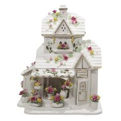 Amazon.com: Royal Albert Old Country Rose Flower Shoppe: Kitchen & Dining