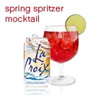 Whole30 approved LaCroix spritzers
