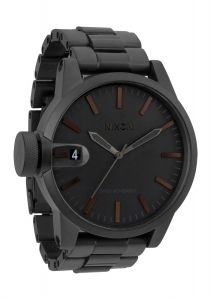 Nixon Chronicle SS Watch Black/Dark Tortoise