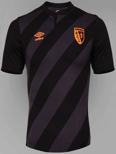 RC Lens 2015-16 Umbro Away Kit Football Cards, Football Shirts, Sports Shirts, Football Players, Rc Lens, Everton Fc, Sports Graphics, Sport Fashion, Sportswear