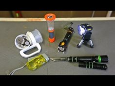 9 Flashlight Gadgets put to the Test - http://www.survivalistearth.com/9-flashlight-gadgets-put-to-the-test/
