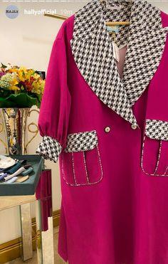 Fashion Sewing, Retro Fashion, Vintage Fashion, Abaya Fashion, Fashion Dresses, Iranian Women Fashion, Pakistani Dress Design, Autumn Fashion, Winter