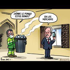 Viñetas  @ferranmartin - bonos basura