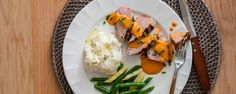 Pork Tenderloin with Red Pepper Sauce Recipe | Hidden Valley®