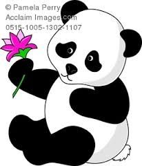 panda bear clipart - Buscar con Google
