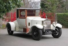 1928 Rolls-Royce 20hp Doctor's Coupe.