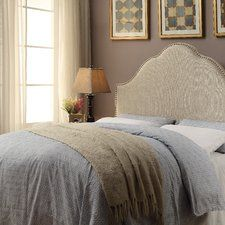 Make an online purchase Laubach Arch Upholstered Panel Headboard